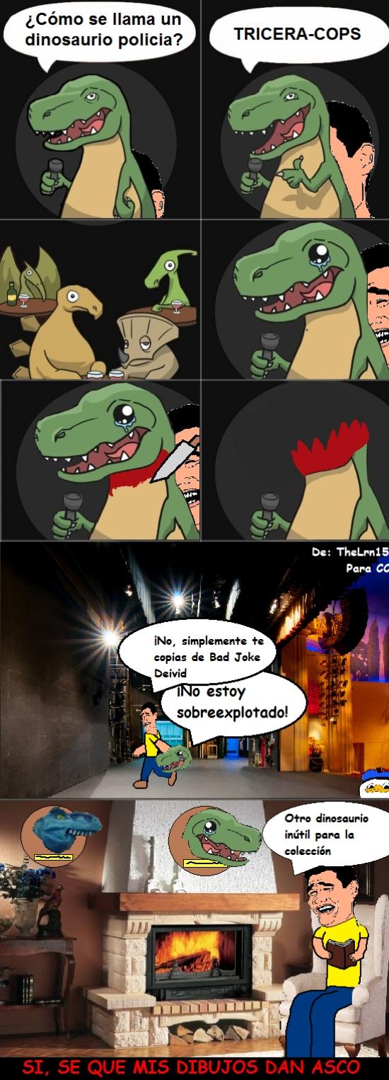Yao - Otro chiste malo... ¡Oh, espera!