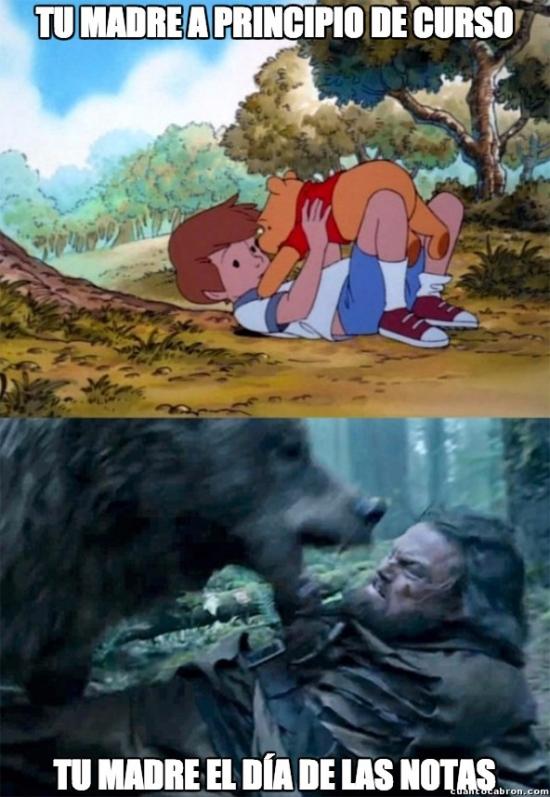 Bear_leo - Hay dos versiones de una madre...