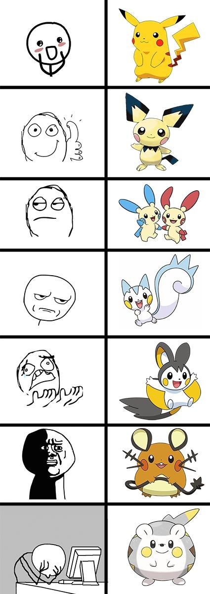 Otros - Reacción a los diseños del Pikachu
