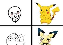 Enlace a Reacción a los diseños del Pikachu