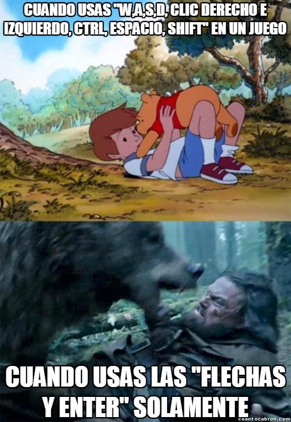 Bear_leo - Cambia mucho la historia jugando de una manera u otra...