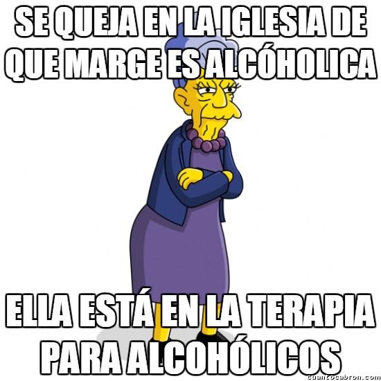 Meme_otros - Lógica de Los Simpson