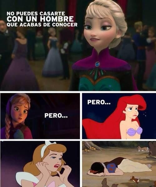 Meme_otros - Hasta Disney se contradice