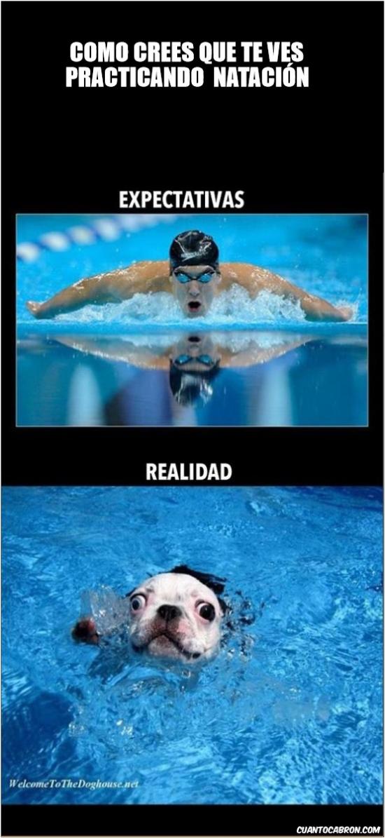 Otros - Como te ves cuando nadas