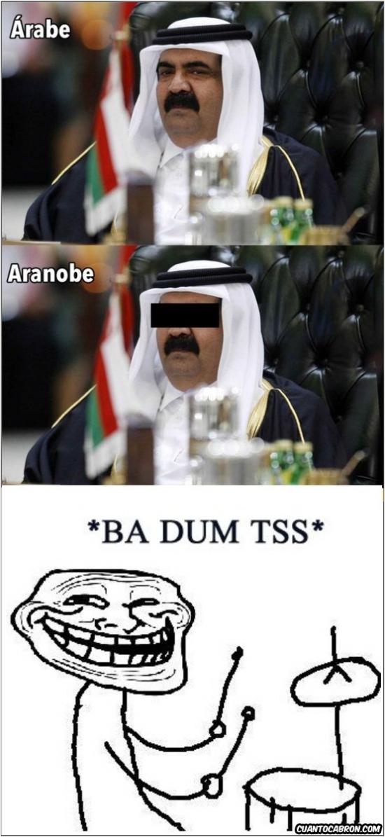 Trollface - El árabe