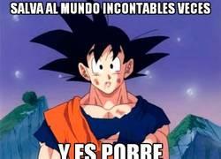 Enlace a Pobre Goku...