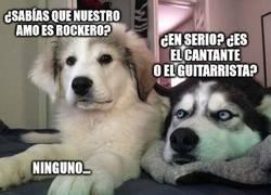 Enlace a El rockero