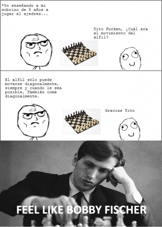 Otros - Bobby Fischer me daría una paliza...