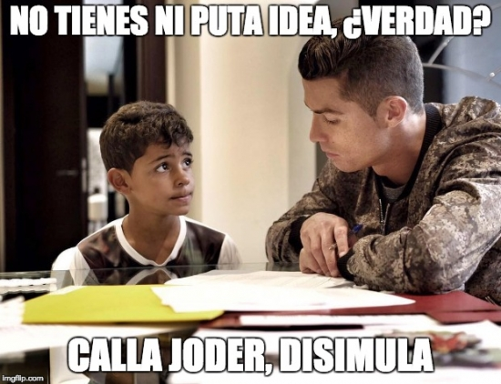 Meme_all_the_things - Cristiano en apuros