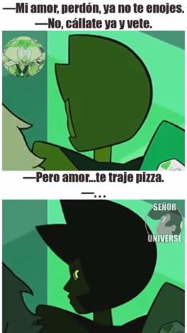 Aww_yea - Pizza, resolviendo relaciones desde tiempos inmemorables.