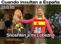 Enlace a Cuando insultan a España