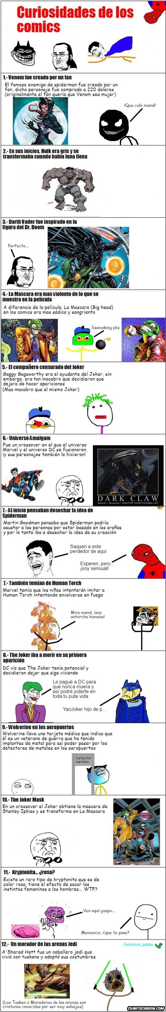 Mix - Curiosidades de los cómics