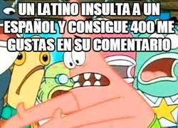 Enlace a La igualdad de la guerra Latinos vs Españoles