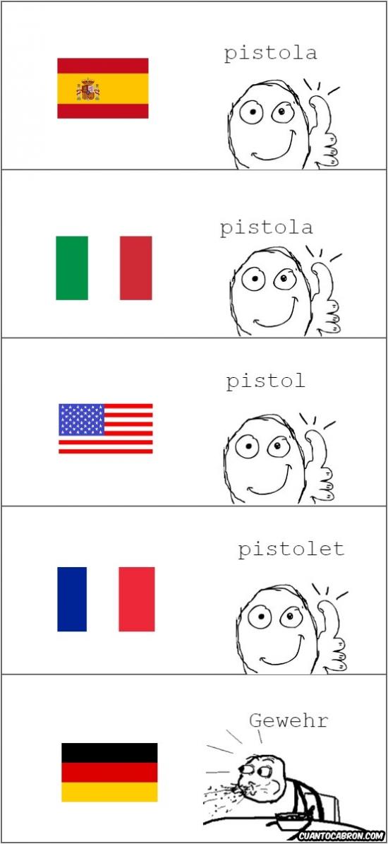 Mix - Pistola en distintos idiomas