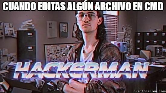 archivointerno,CMD,hackerman,hacks,Windows