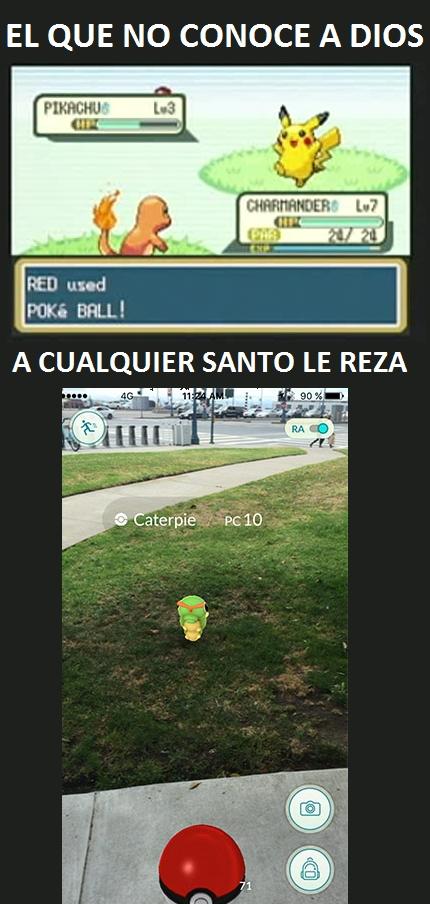 Meme_otros - Odio infinito a Pokémon Go