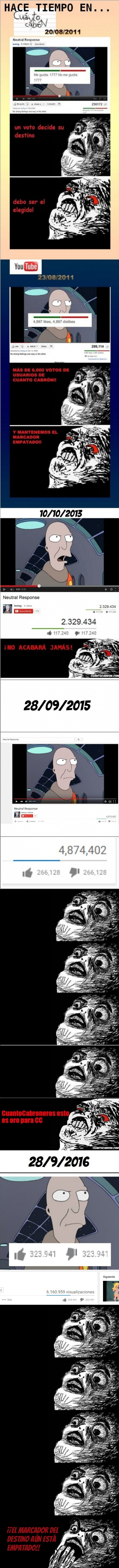 Inglip - ¿Te acuerdas del MÍTICO vídeo de Youtube que mantenía el balance del Universo?