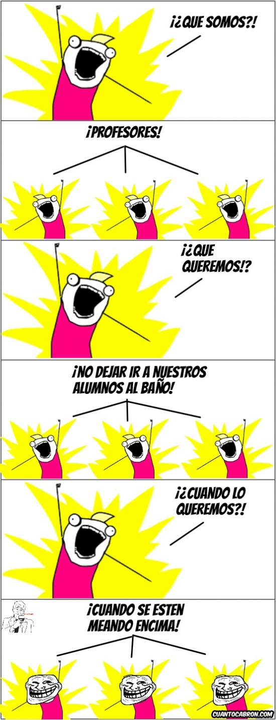 Allthethings - Esos profesores tan detestables...