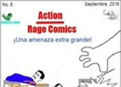 Enlace a Action Rage Comics: Una amenaza extra grande