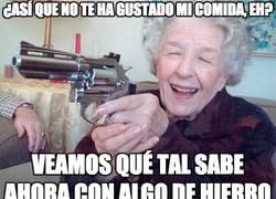 Enlace a Ya me decía mi madre, cómete lo que te sirve la abuela...