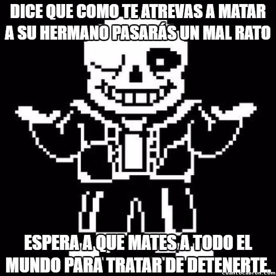 Meme_otros - Sans es especial