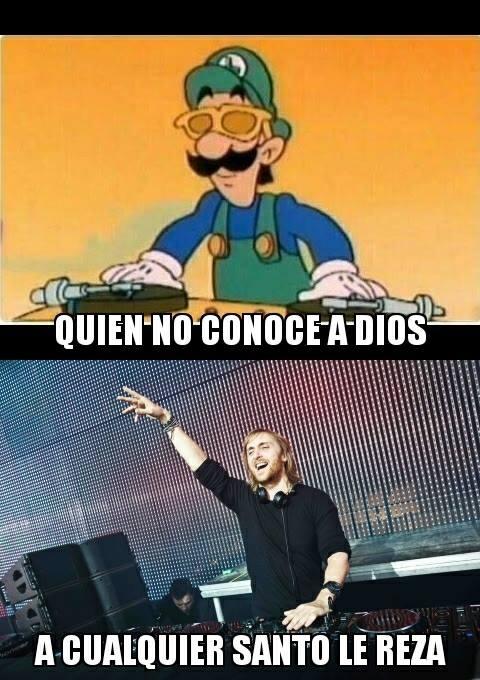 Meme_otros - ¿David Guetta? Por favor...
