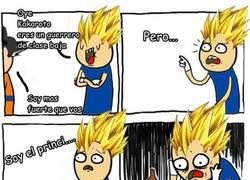 Enlace a Goku es clase baja pero...