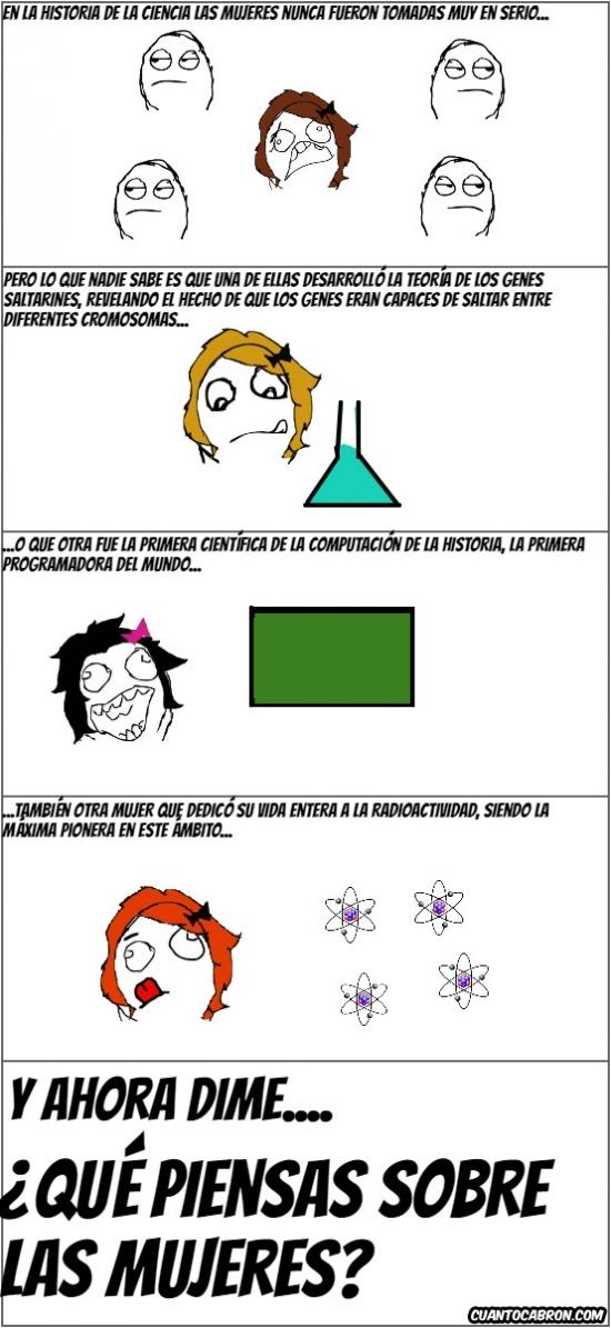 True_story - Mujeres en la historia de la ciencia...