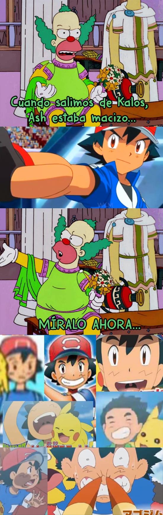 Meme_otros - Ash forma de Alola