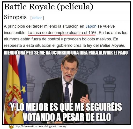 Meme_otros - Battle Royale en España