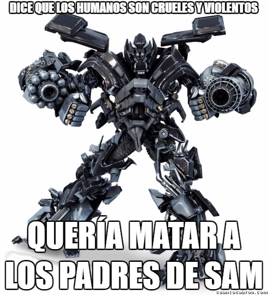 Meme_otros - Ironhide el hipócrita