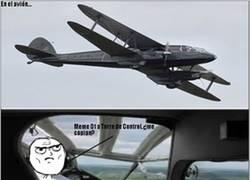 Enlace a El avión en problemas...