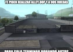 Enlace a GTA San Andreas y su lógica confusa