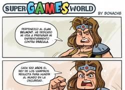 Enlace a Super Castlevania
