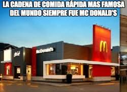 Enlace a Sin lugar a dudas esa si es la mejor cadena de comida rápida
