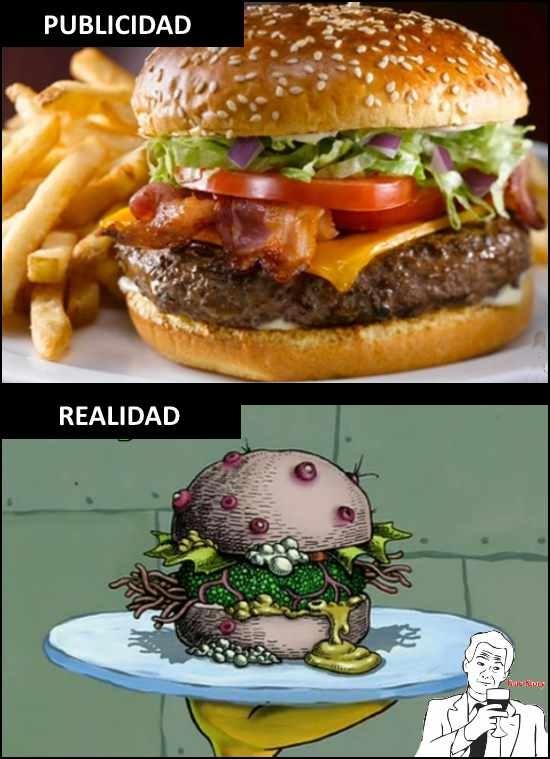 True_story - La realidad de las hamburguesas