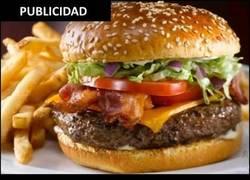 Enlace a La realidad de las hamburguesas