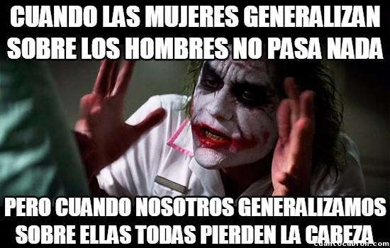 Joker - Queremos igualdad
