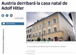 Enlace a Hitler se entera de que van a derribar su casa