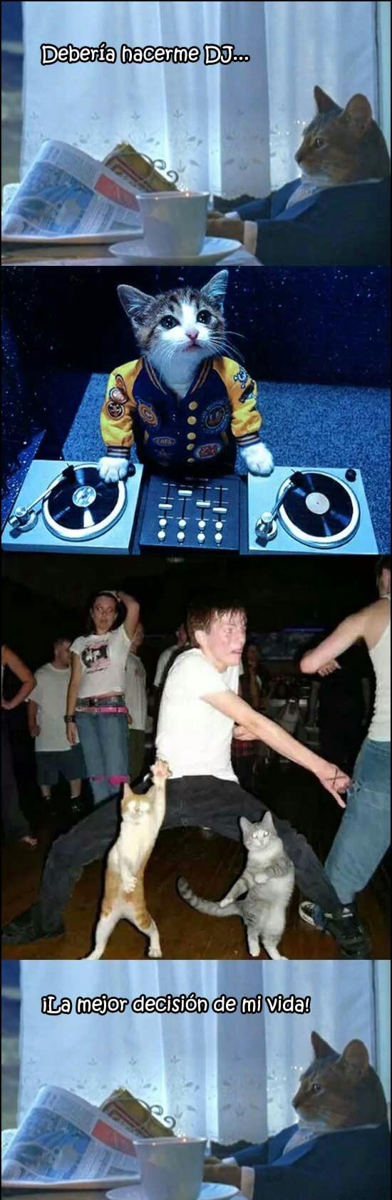 Otros - Ese DJ como mola se merece una ola