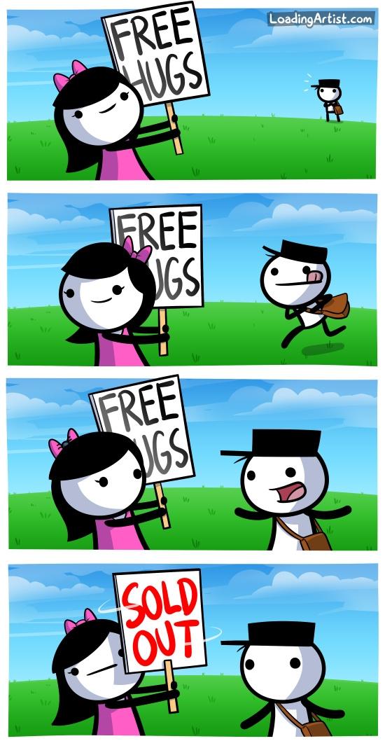 Forever_alone - ¡Abrazos gratis!