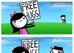 Enlace a ¡Abrazos gratis!