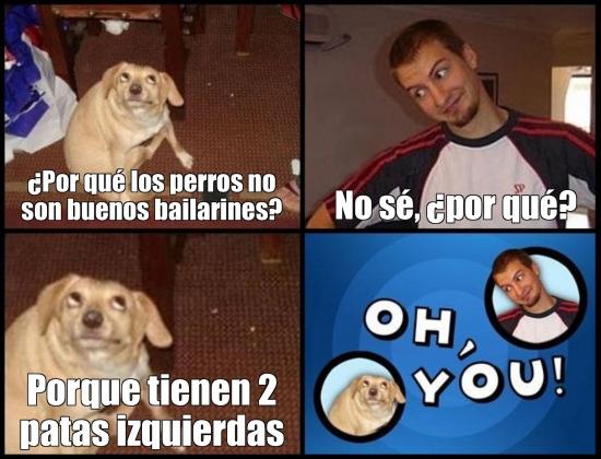 Meme_otros - El problema de los perros