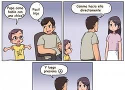Enlace a Cuando recibes los consejos de un padre Gamer