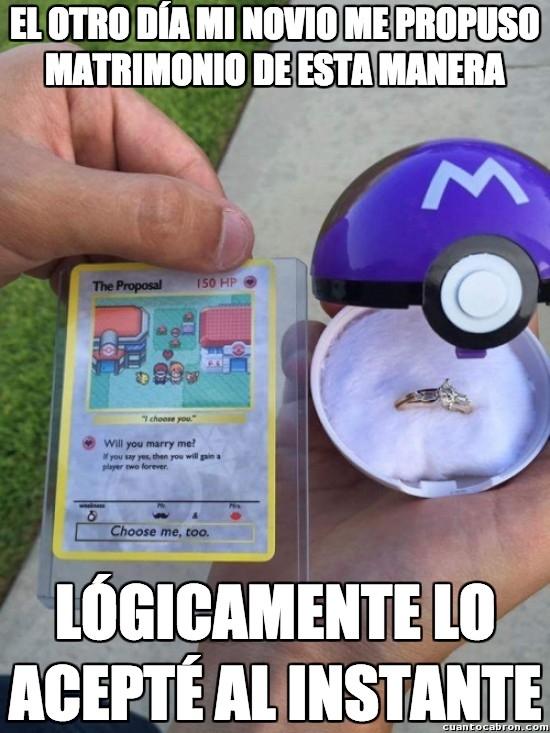 Meme_otros - Esas propuestas épicas que solo los gamers y frikis saben hacer