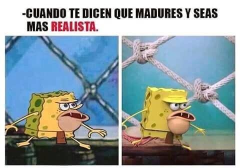 Meme_otros - ¡Estoy siendo más realista!