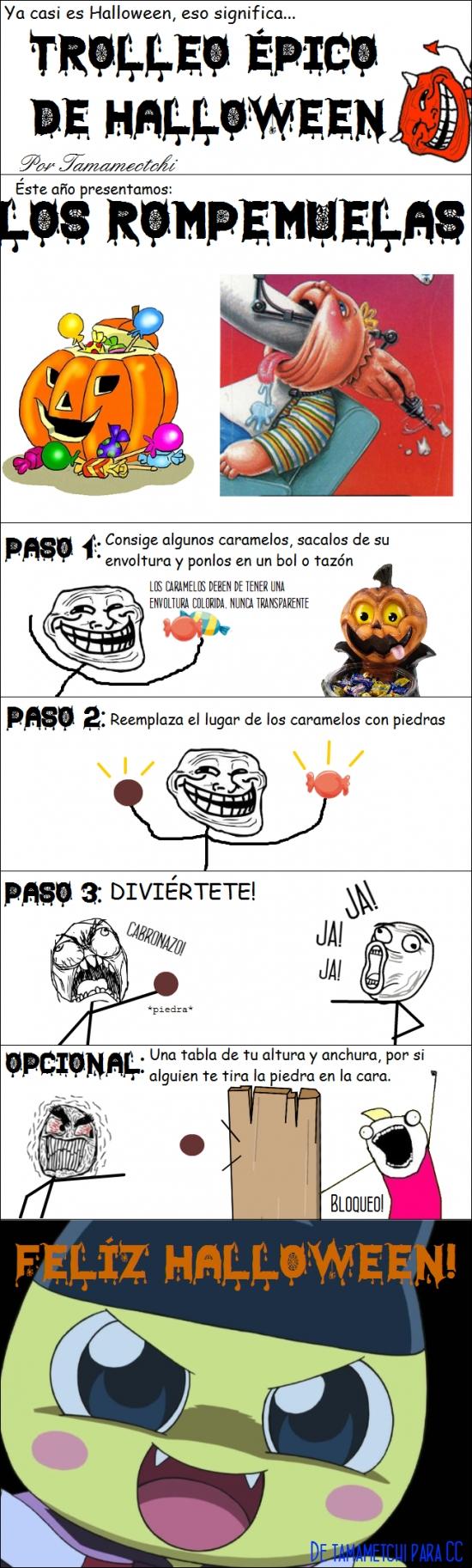 Trollface - Trolleo de Halloween ¿Te atreves?