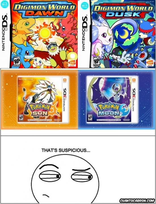 Thats_suspicious - Y luego es Digimon el plagio...