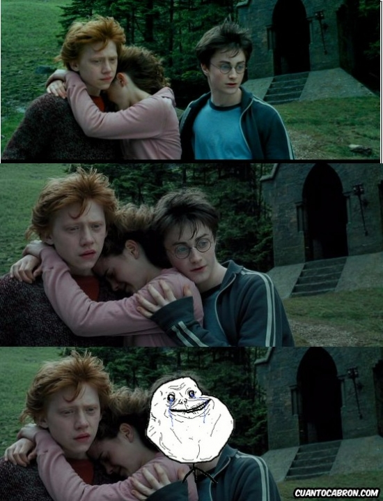Forever_alone - La soledad de Harry...