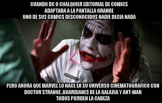 Joker - Así está el panorama de los cómics en el cine